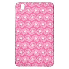 Pink Gerbera Daisy Vector Tile Pattern Samsung Galaxy Tab Pro 8 4 Hardshell Case by creativemom