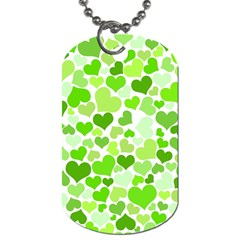 Heart 2014 0909 Dog Tag (one Side)