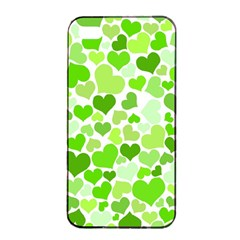 Heart 2014 0909 Apple Iphone 4/4s Seamless Case (black) by JAMFoto