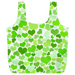 Heart 2014 0909 Full Print Recycle Bags (l)  by JAMFoto