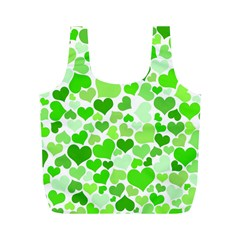 Heart 2014 0910 Full Print Recycle Bags (m)