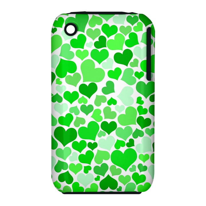 Heart 2014 0912 Apple iPhone 3G/3GS Hardshell Case (PC+Silicone)