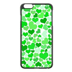 Heart 2014 0912 Apple Iphone 6 Plus Black Enamel Case