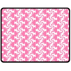Cute Candy Illustration Pattern For Kids And Kids At Heart Fleece Blanket (medium)