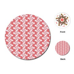 Candy Illustration Pattern  Playing Cards (round)  by creativemom