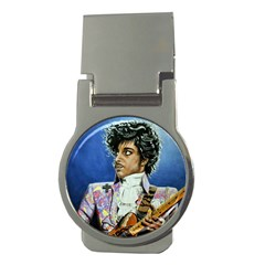 The Purple Rain Tour Money Clips (round)  by retz