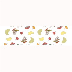 Mushrooms Pattern Large Bar Mats by Famous