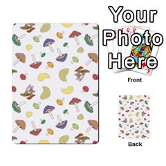 Mushrooms Pattern Multi Purpose Cards (rectangle)  by Famous
