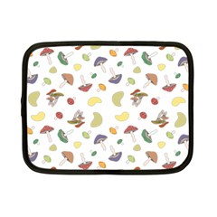 Mushrooms Pattern Netbook Case (small)  by Famous