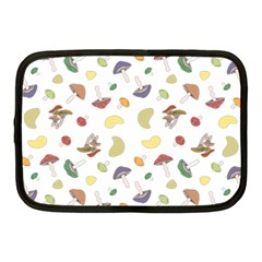 Mushrooms Pattern Netbook Case (medium)  by Famous