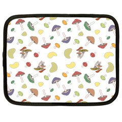 Mushrooms Pattern Netbook Case (large)	 by Famous