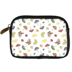Mushrooms Pattern Digital Camera Cases by Famous