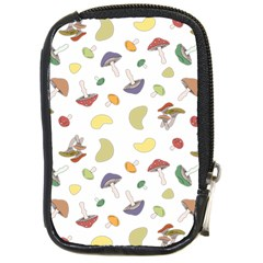 Mushrooms Pattern Compact Camera Cases by Famous