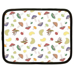 Mushrooms Pattern Netbook Case (xxl)  by Famous