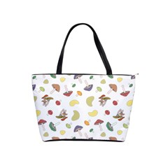 Mushrooms Pattern Shoulder Handbags by Famous