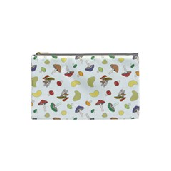 Mushrooms Pattern Cosmetic Bag (small)  by Famous
