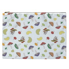 Mushrooms Pattern Cosmetic Bag (xxl)  by Famous
