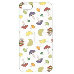 Mushrooms Pattern Apple Iphone 5 Hardshell Case With Stand by Famous