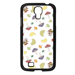 Mushrooms Pattern Samsung Galaxy S4 I9500/ I9505 Case (black) by Famous