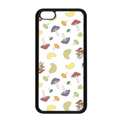 Mushrooms Pattern Apple Iphone 5c Seamless Case (black) by Famous