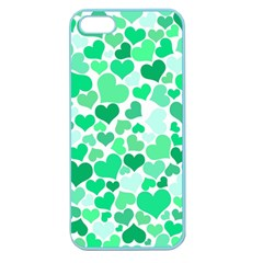 Heart 2014 0915 Apple Seamless Iphone 5 Case (color) by JAMFoto