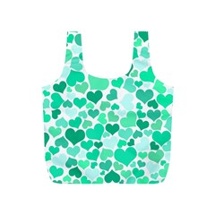 Heart 2014 0916 Full Print Recycle Bags (s)