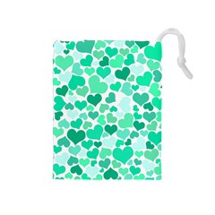 Heart 2014 0916 Drawstring Pouches (medium)  by JAMFoto