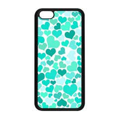 Heart 2014 0917 Apple Iphone 5c Seamless Case (black) by JAMFoto