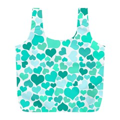 Heart 2014 0917 Full Print Recycle Bags (l)
