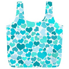 Heart 2014 0918 Full Print Recycle Bags (l)