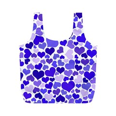 Heart 2014 0925 Full Print Recycle Bags (m)