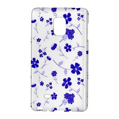 Sweet Shiny Flora Blue Galaxy Note Edge by ImpressiveMoments