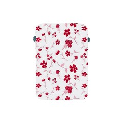 Sweet Shiny Floral Red Apple Ipad Mini Protective Soft Cases by ImpressiveMoments