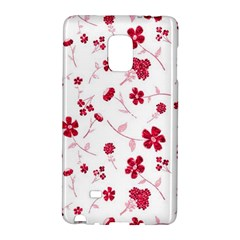 Sweet Shiny Floral Red Galaxy Note Edge by ImpressiveMoments