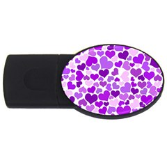 Heart 2014 0928 Usb Flash Drive Oval (2 Gb)  by JAMFoto