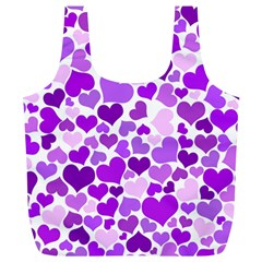 Heart 2014 0928 Full Print Recycle Bags (l)  by JAMFoto