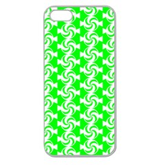 Candy Illustration Pattern Apple Seamless Iphone 5 Case (clear) by creativemom