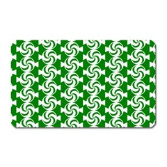 Candy Illustration Pattern Magnet (rectangular) by creativemom