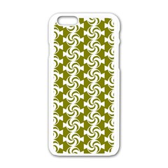 Candy Illustration Pattern Apple Iphone 6 White Enamel Case by creativemom