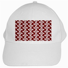 Candy Illustration Pattern White Cap by creativemom