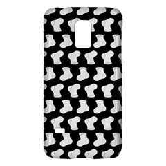 Black And White Cute Baby Socks Illustration Pattern Galaxy S5 Mini by creativemom