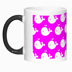 Cute Whale Illustration Pattern Morph Mugs by creativemom