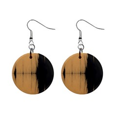 Sunset Black Mini Button Earrings by digitaldivadesigns