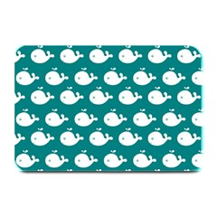 Cute Whale Illustration Pattern Plate Mats