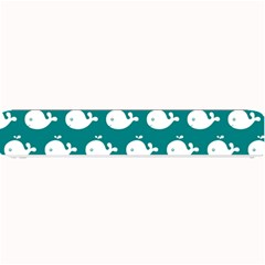 Cute Whale Illustration Pattern Small Bar Mats