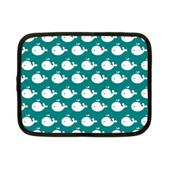 Cute Whale Illustration Pattern Netbook Case (Small)