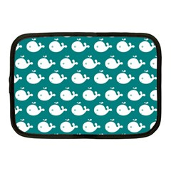 Cute Whale Illustration Pattern Netbook Case (Medium)