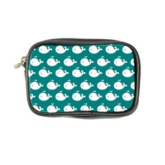 Cute Whale Illustration Pattern Coin Purse