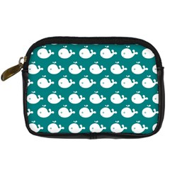 Cute Whale Illustration Pattern Digital Camera Cases