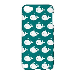 Cute Whale Illustration Pattern Apple iPod Touch 5 Hardshell Case